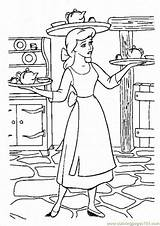 Woman Coloring Cooking Gender Pages Coloringpages101 sketch template
