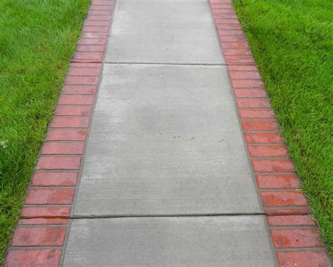 brick and concrete walkway 77 best images about patio ideas on pinterest paving stone patio exposed aggregate and