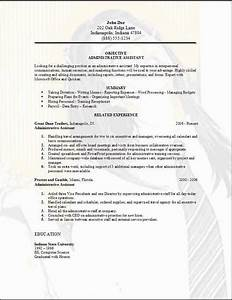 administrative assistant resume examples samples free With free administrative assistant resume templates