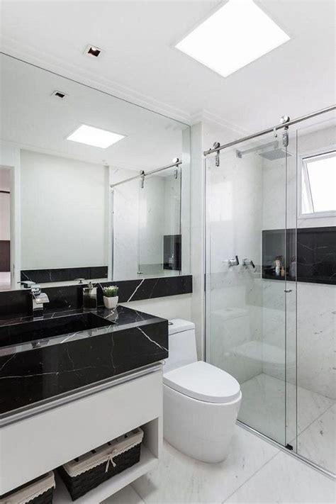 banheiro pequeno decorado veja mais de  fotos  se