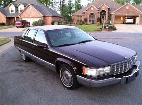 how to learn all about cars 1996 cadillac seville security system sell used 1996 cadillac fleetwood brougham in little rock arkansas united states for us 6 000 00