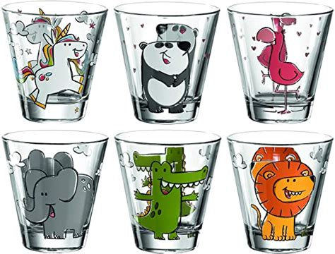 And join one of thousands of communities. Leonardo Bambini 017906 Children's Drinking Glass with Animal Motif, Dishwasher Safe Juice ...