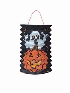 Kürbis Schwarz Weiß : halloween grusel laterne motiv geist k rbis schwarz orange weiss ~ Orissabook.com Haus und Dekorationen