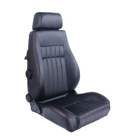 siege semi baquet auto style type retro reclining seat gsm sport seats