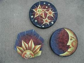 Painted Rocks as Stepping Stones Images
