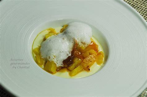 recette dessert ananas caramelise panna cotta 224 la vanille ananas au caramel mousse vanille