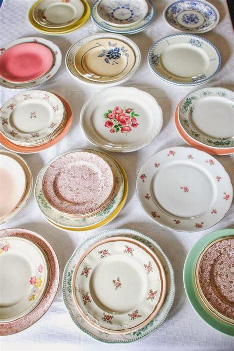 Möbel Streichen Vintage Look by 25 Best Ideas About Vintage Plates On Blue