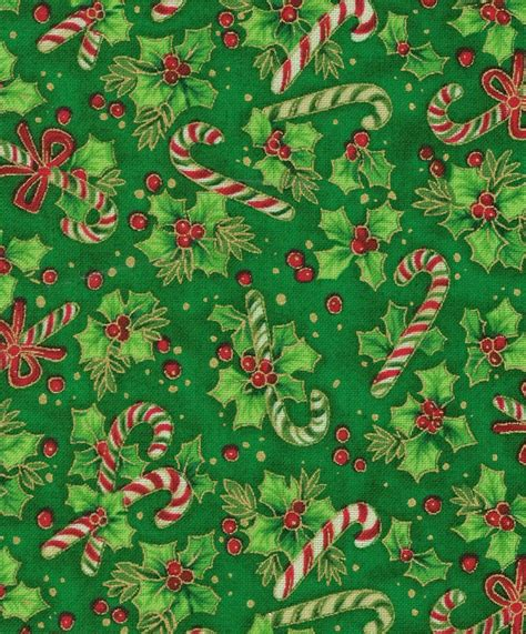 candy canes ribbon  holly joanns fabricsw christmas