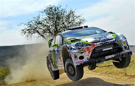 Rally Car Jump Wallpaper  Wallpapers Gallery