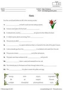 Plants Worksheets Primaryleap Co Uk Plants Worksheet