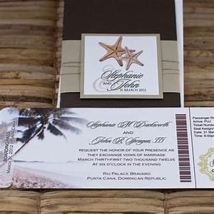 stylish save the dates destination weddings passport With destination wedding invitations punta cana