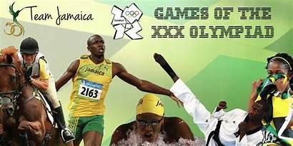 Jamaica Games Olympic Run Jamaican Athletes Events
