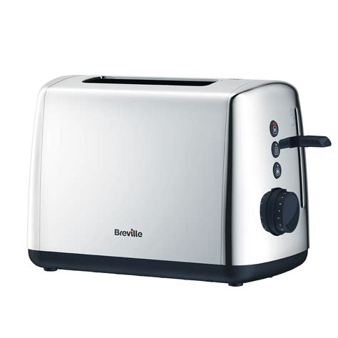 2 Slice Toaster by Polished Stainless Steel 2 Slice Toaster Vtt548 Breville