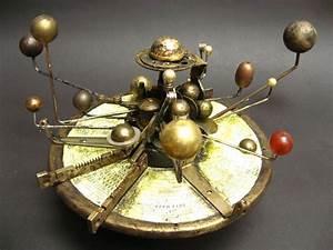 Steampunk Solar System model Orrery Assemblage by urbandon ...