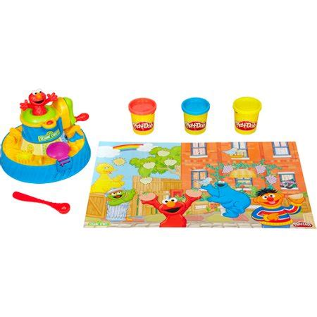 play doh color mixer play doh sesame color mix walmart