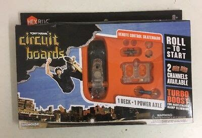 Tony Hawk Circuit Boards Create Skate Ramp Pack