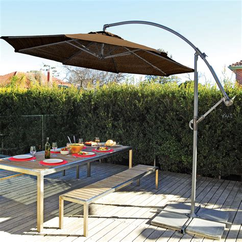 offset sun umbrella best outdoor patio umbrella