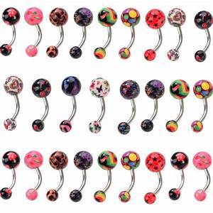 Plastic Belly Rings For Surgery - Rings & Bands