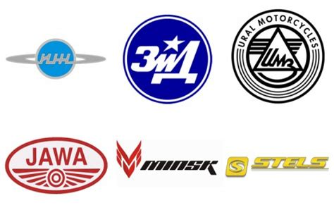 Russian Motorcycle Brands, Companies, Logos Motorcycles