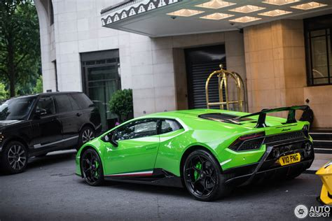 lamborghini huracan lp  performante  june
