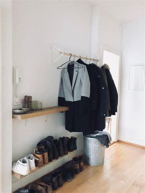 Ideen Für Flur Garderobe by Die Besten 25 Offene Garderobe Ideen Auf