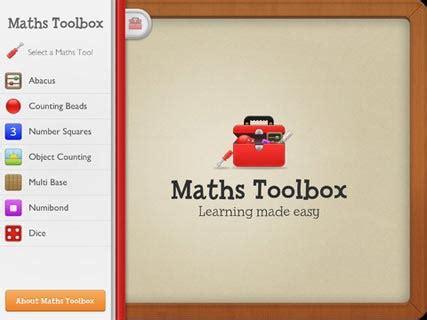 maths toolbox edshelf