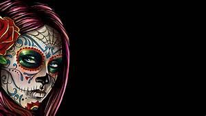 HD Sugar Skull Wallpaper - WallpaperSafari