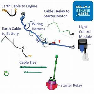 Bajaj Pulsar Ns160  Wiring  U0026 Relays