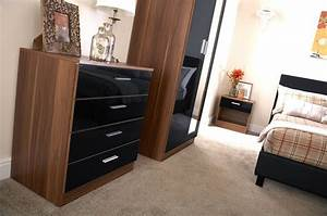 black high gloss tv unit contemporary furniture italian With ikea black gloss living room furniture