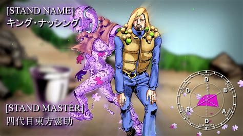 This is the stand of jojo part4 final boss killer queen! JOJO Part 8: JoJolion - Stand Eye Catches『2』 - YouTube