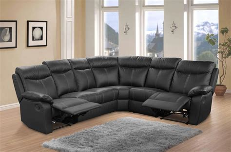 canape angle relaxation canapé cuir d 39 angle relax victory noir