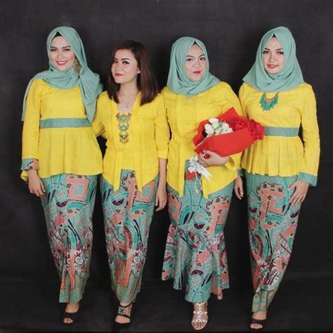 gamis lengan pendek 25 inspirasi model baju kebaya muslim elegan dan modern