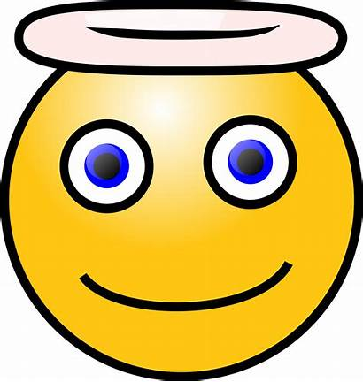 Face Clipart Angel Clip Happy Smiley Angelic