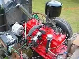 1950 Studebaker Champion Flathead Inline 6 Engine