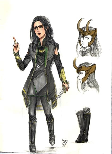 Female Loki Dress By Palitapare On Deviantart Cosplay