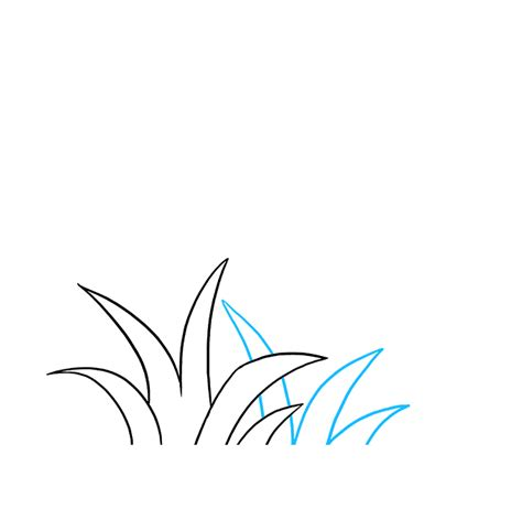 draw grass  easy drawing tutorial