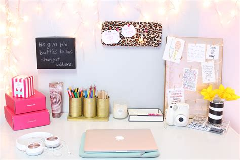 desk decor diy diy desk decor easy inexpensive