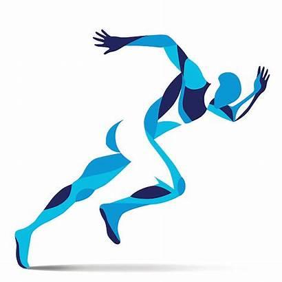 Athletes Athlete Clip Clipart Athletics Vector Wis