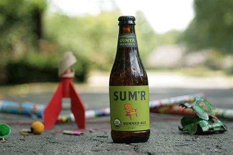 Uinta Sum'r Summer Organic Beer A Refreshing Seasonal Ale
