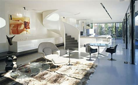 Modern Interior Design for a Contemporary Concrete House