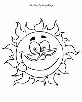 Sun Coloring Pages Sunshine Colouring Bear Coloringkids sketch template