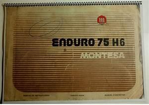 Manual Despiece Montesa Enduro 75 H6