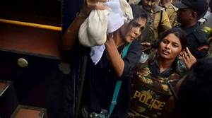 Sabarimala protests: Was sure to reach the shrine, sought ...