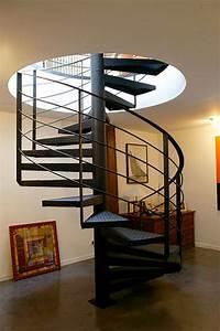 Escalier En Colimaçon Pas Cher : 27 id es d 39 escaliers pour votre loft ~ Premium-room.com Idées de Décoration