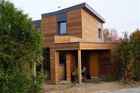 plan maison 120m2 3 chambres maison bois à nantes 118m2 maison wooden l 39 habitat