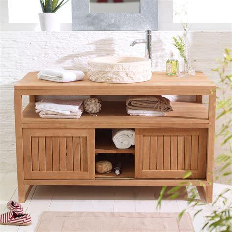 meuble cuisine sous evier 120 cm photo armoire salle de bain en bois