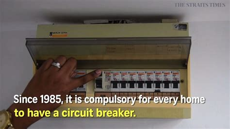 circuit breaker  save   electrocution singapore