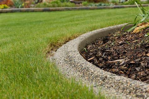 Concrete Landscape Edging Ideas