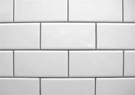 white subway tile with contrasting gray grout la salle