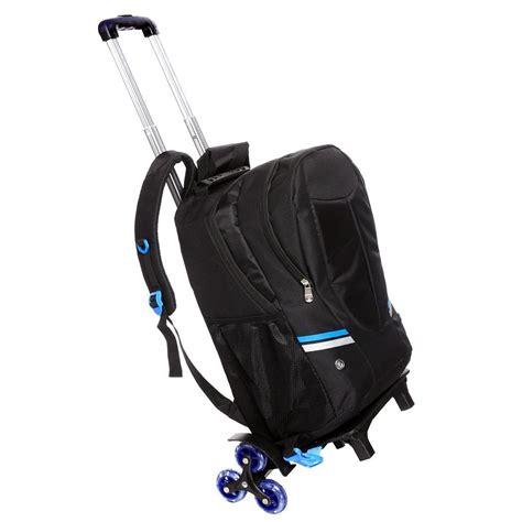 wheeled rucksack cabin baggage laptop wheeled backpack trolley luggage shoulder
